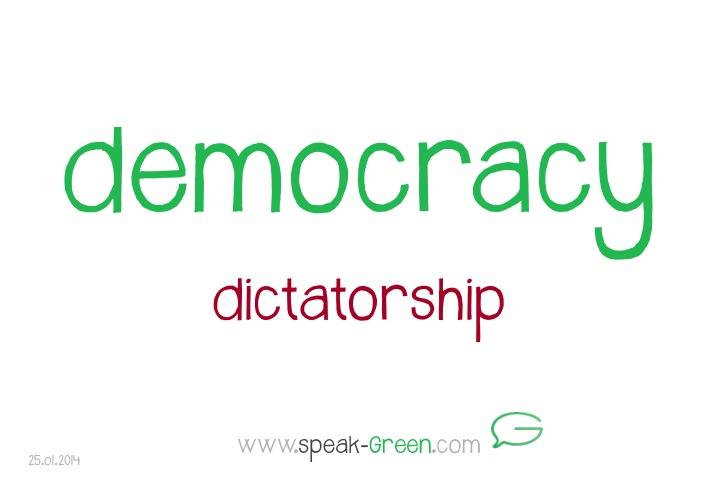 2014-01-25 - democracy