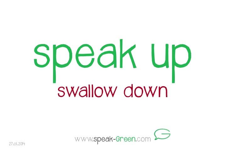 2014-01-27 - speak up