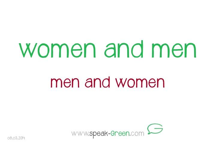 2014-03-08 - women and men